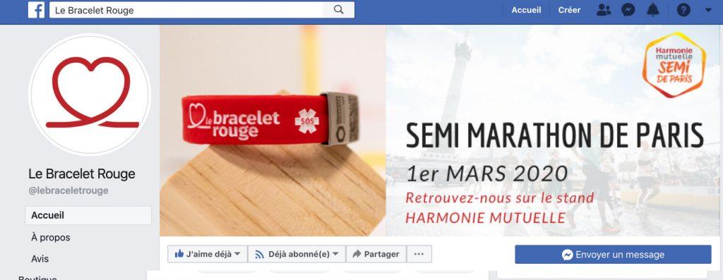 Banniere facebook le bracelet rouge