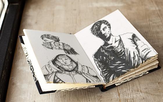 Carnet de croquis by Roxane Chan Pao