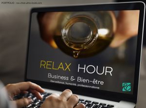 Template Powerpoint Relax Hour by Roxane Chan Pao