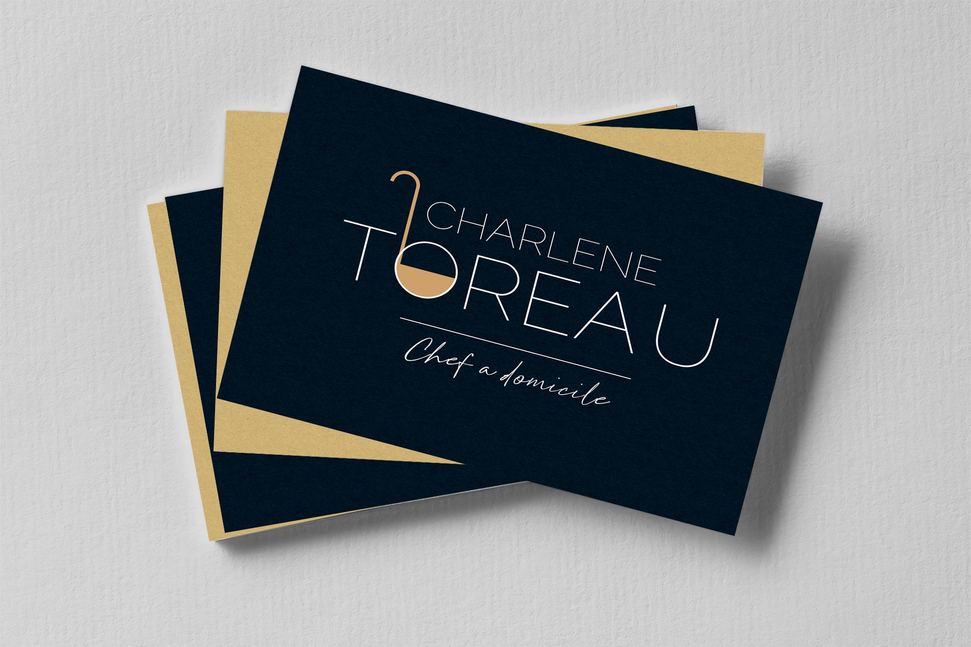 Logo Charlene Toreau Cheffe à domicile
