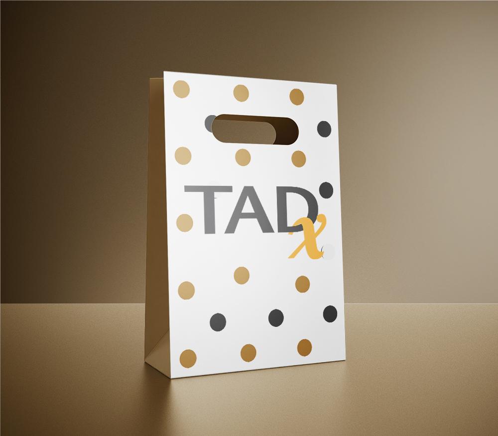 TADx Sacs évènements par Roxane CHAN PAO Graphisme et Communication